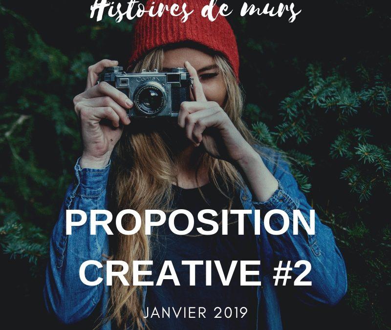 PROPOSITION CREATIVE #2 – Histoires de murs…