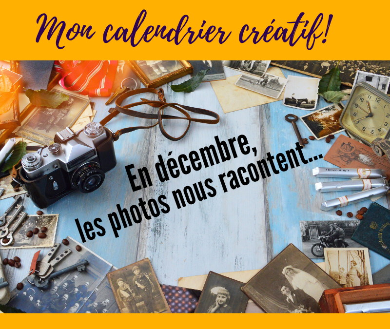 PROPOSITION CREATIVE #12 – Mon calendrier créatif!